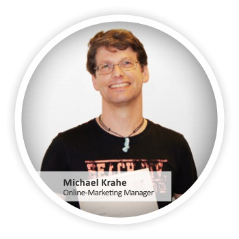 Michael Krahe, Online-Marketing-Manager der Marco Schreier Mineralienhandlung GmbH
