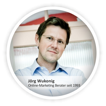 Jörg Wukonig, Online-Marketing Berater seit 1993
